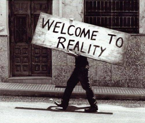 Întoarcere la realitate.